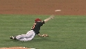 Wieters throws out Figgins