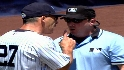 Girardi gets an early ejection