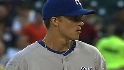 Greinke&#039;s nine strikeouts