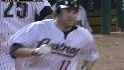 Berkman&#039;s three-run blast
