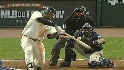 Sandoval&#039;s three-run smash