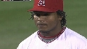 Aybar fields the deflection