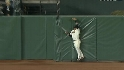 Rowand&#039;s catch at the wall