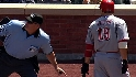 Votto gets dismissed