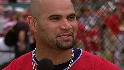 Costas chats with Pujols
