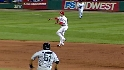 Utley&#039;s twirling throw