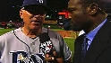 Maddon talks with Harold