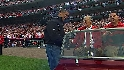 Musial delivers the game ball