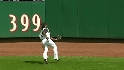 McCutchen&#039;s nice catch