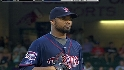 Liriano strikes out six