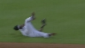 Tejada's diving snag