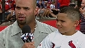 Pujols on the Red Carpet