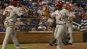 Figgins&#039; go-ahead double