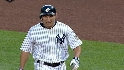 Cabrera scores on an error