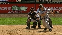 Garko's two-run homer