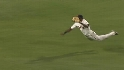 Velez&#039;s diving grab