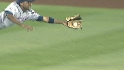 Francisco's diving grab