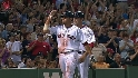 Youkilis&#039; two-run double