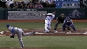 Pena's three-run shot