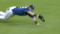 Hamilton&#039;s diving grab