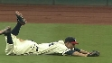 Sizemore&#039;s leaping catch