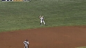 Lowrie&#039;s long throw