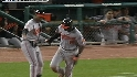 Jones' two-run homer