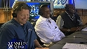 Rickey visits the Padres booth