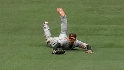 Markakis&#039; diving catch
