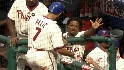 Feliz&#039;s two-run homer