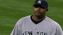 Sabathia strikes out 10