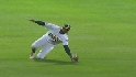 Davis&#039; diving catch