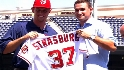 Strasburg introduced in DC