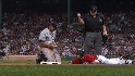 Jeter throws out Pedroia