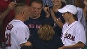 Red Sox fans wed during stretch