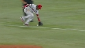 Aybar shows his range
