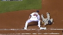 Jurrjens' smooth pickoff play