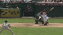 Morales&#039; three-run jack