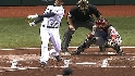 Pena&#039;s RBI single