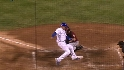 Pence&#039;s relay saves a run