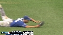 DeJesus' diving grab