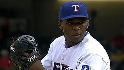 Neftali Feliz strikes out four