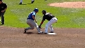 Thole nails Fukudome at second