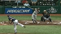Davis&#039; first career strikeout