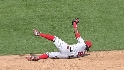 Aybar flashes the leather