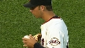 Bumgarner&#039;s first MLB start