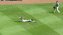 Ankiel lays out to make the grab