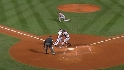 Roberts gets Ellsbury at home
