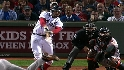 Varitek's RBI double