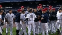 Four calls of Jeter&#039;s milestone